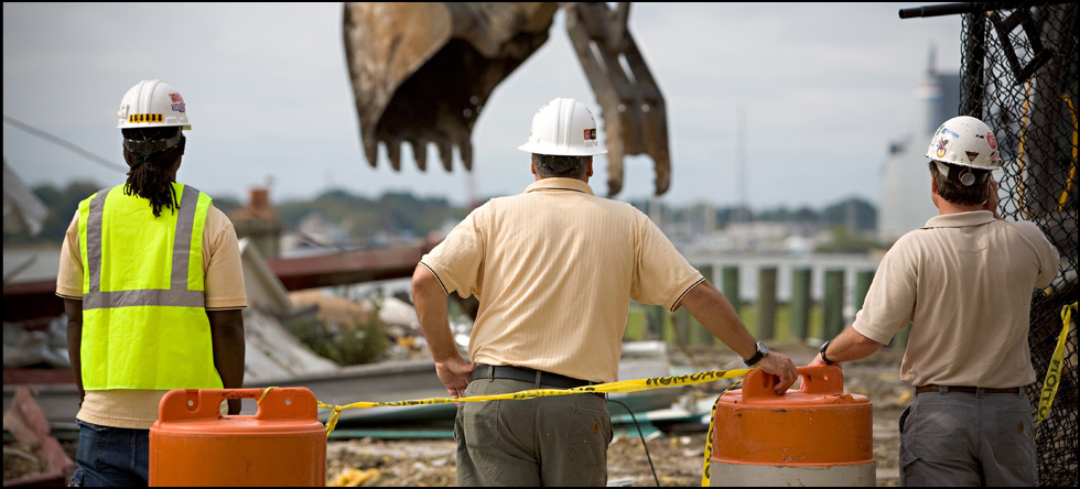 Army Corps of Engineers: Demolition of existing facilities, asbestos abatement, above grade fuel oil tank (AST), and ground clearing