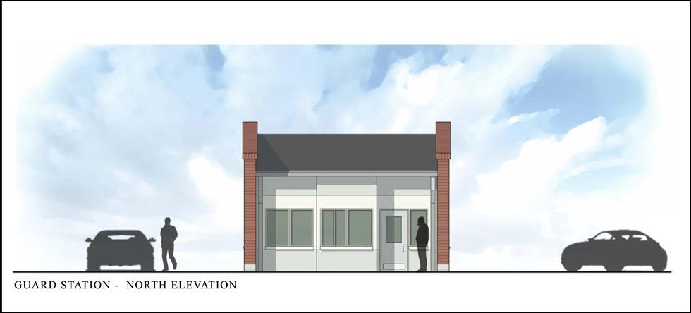 Design Build Guardhouse Security Entrance