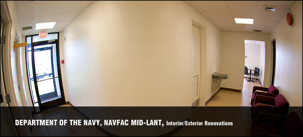 Department of the Navy, NAVFAC MID-LANT, Interior/Exterior Renovations, VA