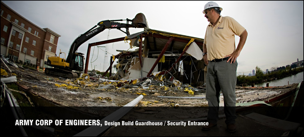 Army Corp of Engineers, Design Build Guardhouse/Security Entrance