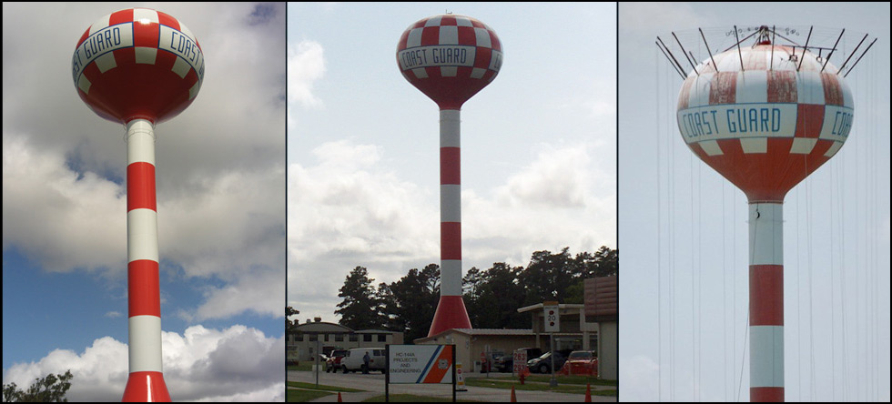 USCG Civil Engineering Unit: New exterior coating for existing water tower