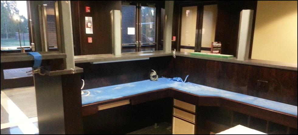 Williamsburg-James City County - James City County Courthouse Lobby Security Desk, Williamsburg, VA